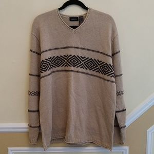 Claiborne V-neck Oversized Sweater